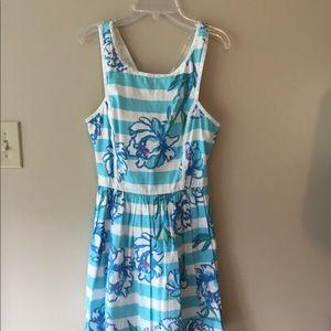 Women's Lilly Pulitzer Blue summer dress
